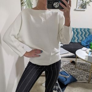Vince Camuto dolman sleeve sweater ribbed